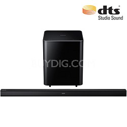 HW-H550 - 2.1 Channel Wireless High-Definition Audio Soundbar (Black)