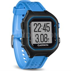 Forerunner 25 GPS Fitness Watch - Large - Black/Blue