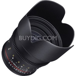 50mm T1.5 Cine VDSLR II Lens for Nikon Mount
