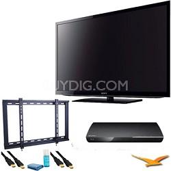 KDL55EX640 - 55 inch Wifi XR240 LED Internet TV w BDPS390 Blu Ray