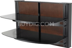 VF5022 - Vertical A/V Series HDpro 2-shelf on-wall component shelving