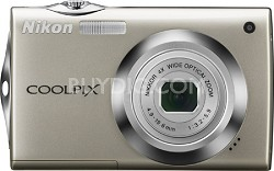 COOLPIX S4000 Digital Camera (Champagne Silver)
