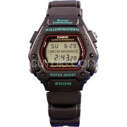 Men's DW290-1V Classic Alarm Chronograph Shock Resistant Sport Watch