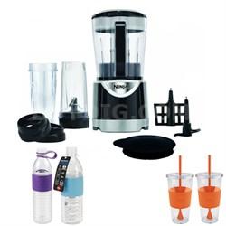 Ninja Kitchen System Pulse (BL201) w/ Copco Hydra Bottles Bundle