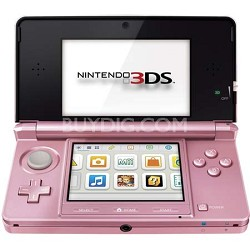3DS Portable Gaming Console - Pearl  Pink