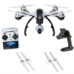 Q500+ Typhoon Quadcopter w/ CGO2-GB 3-Axis Gimbal Camera Dual Battery Bundle