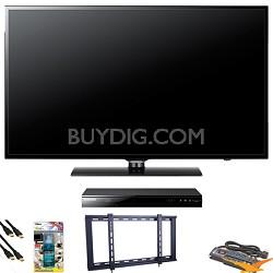 UN46EH6000 46 inch 120hz LED HDTV Blu Ray Bundle