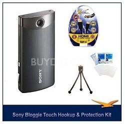 MHS-TS20/B Bloggie Touch 8GB Black HD Camcorder w/ HDMI, LCD Protectors, Tripod