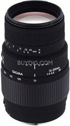 70-300mm f/4-5.6 DG Macro Telephoto Zoom Lens for Canon SLR Cameras OPEN BOX