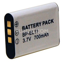 BP-EL11 - 700mAh Lithium Replacement Battery for Nikon EN-EL11 and Pentax DLi78