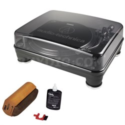 AT-LP1240-USB Professional DJ Turntable With RCA Turntable Cleaning System