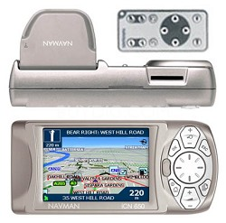 iCN 650 Transferable In Car Navigation System preloaded with US/CAN Maps