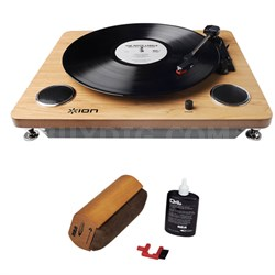 Archive LP IT53L USB Turntable With RCA Turntable Cleaning System