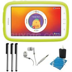 "Galaxy Tab 3 Lite Kids Edition 7.0"" 8GB Wi-Fi (White w/ Green Bumper)"