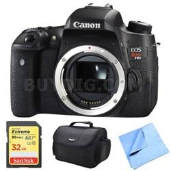 EOS Rebel T6s Digital SLR Camera Body 32 GB Bundle