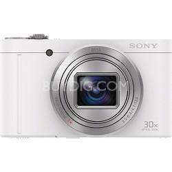 Cyber-Shot DSC-WX500 Digital Camera with 3-Inch LCD Screen - White