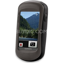 "Oregon 550, World Wide, Rugged 3"" touchscreen with built-in 3.2 megapixel camera"