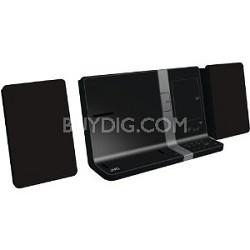 UXVJ3B  iPad/iPod/iPhone Mini System 30-Watt Dual Dock (Black) Refurbished
