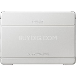 """White Book Cover for 10.1"""" Galaxy Tab Pro Tablet"""