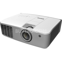 W1500 1080p HD Wireless DLP Home Theater Projector (Silver) Factory Refurbished