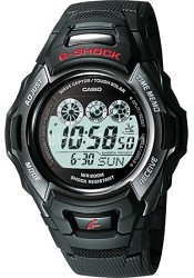 GW530A-1V - G-Shock Atomic Solar Digital Black Resin, Black Metal Bezel