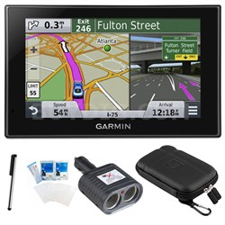 "nuvi 2559LMT Advanced Series 5"" GPS Navigation System with Bluetooth Bundle"