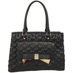 Be Mine Forever Tote - Black