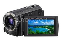 HDR-CX580V 32GB 20.4 MP Stills 12x Optical Wide Angle HD Camcorder OPEN BOX