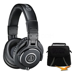 ATH-M40x Professional Headphones Deluxe Bundle
