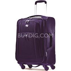iLite Supreme 21 Inch Spinner Suitcase (Purple)
