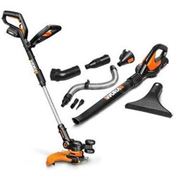 WORX 20V Lithium-Ion Cordless String Trimmer/Blower Combo Kit - WG951.2