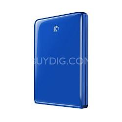 GoFlex 500 GB Ultra-Portable USB 3.0 External Hard Drive (BLUE)