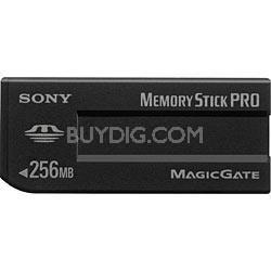 256MB Memory Stick Pro Media