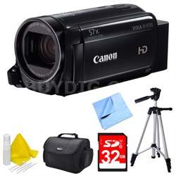 VIXIA HF R700 Full HD Black Camcorder Deluxe Bundle - Black