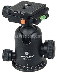 SBH-100 Ballhead with Quick Release for the Elite and Tracker Tripods - OPEN BOX