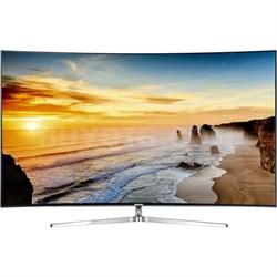 "UN78KS9500 - 78"" Class 4K SUHD JS9500 Series Curved Smart TV"