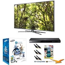 """UN46D7900 46"""" 1080p 240hz 3D Backlit LED HDTV Bundle"""