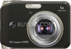 "A1050 10.1MP 2.5"" LCD 5x Zoom Digital Camera (Black)"