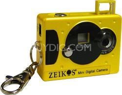 KDC31 Keychain Digital Camera (Yellow)
