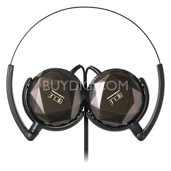 BuyDig - Audio-Technica BIJOUE On-ear Headphones (Brown) - $8.99