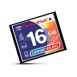 16GB CompactFlash Memory Card