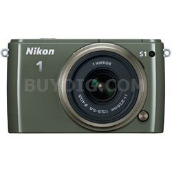 1 S1 10.1MP Khaki Digital Camera with 11-27.5mm Lens