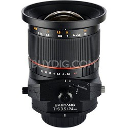 24mm F3.5 Tilt Shift Lens for Canon