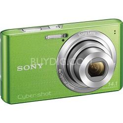 Cyber-shot DSC-W610 Green 14.1 MP Compact Digital Camera