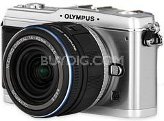 E-P1 Micro Four Thirds SLR Camera with Black 14-42mm Lens