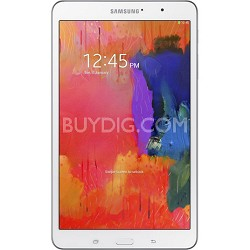 "Galaxy Tab Pro 8.4"" White 16GB Tablet - 2.3 GHz Quad Core Pro - OPEN BOX"