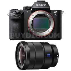 a7S II Full-frame Mirrorless Interchangeable Lens Camera 16-35mm Lens Bundle