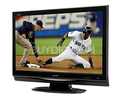 "LC-37D44U - AQUOS 37"" High-definition LCD TV"