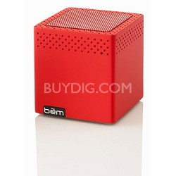 Mini Mobile Bluetooth Speaker (Red) - BEMCSR