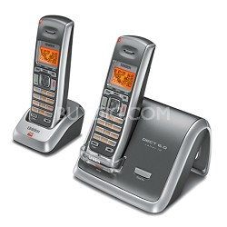 2060-2 DECT 6.0 Cordless Phone,Caller ID, Extra Handset and Charging Cradle